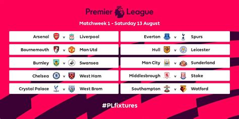 epl table and features premier league fixtures excel export