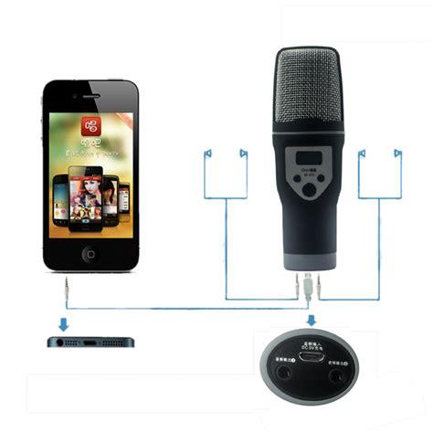 android microphone portable handheld condenser microphone mic enregistrer des voix et acoustiques instruments pour