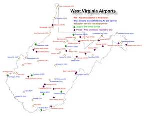 airports in west virginia