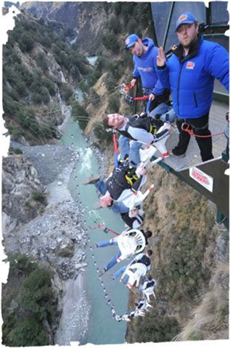 new zealand cliff swing quot the chair quot bungee jump shotover canyon swing queenstown