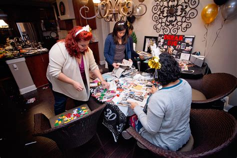 hosting party start your 30 s the right way how to host a vision board