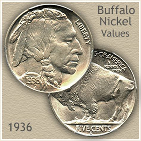 1936 nickel value discover your buffalo nickel worth