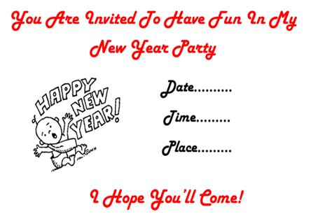 New Year Invitation Card Template by New Year 2018 Invitation Cards Cards Greetings Card