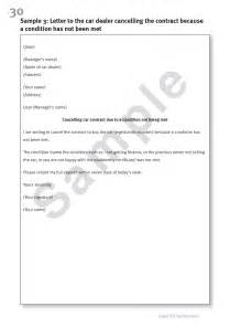 Cancellation Letter For Warranty New Dealership Letter Format