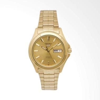 Jam Tangan Pria Seiko 5 Snzf79 Silver Gold jam tangan seiko 5 automatic 7s26 terbaru harga promo