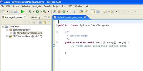 java programming program write your first java program using eclipse