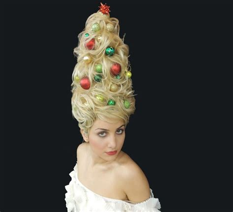 beautiful christmas tree hairstyles for charming girls
