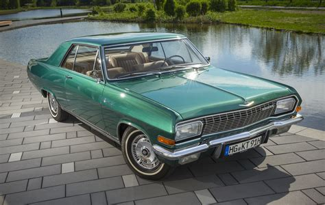 vintage opel opel boss enters classic event with his own diplomat a v8