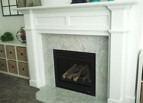 diy fireplace mantel and surround fireplace design ideas