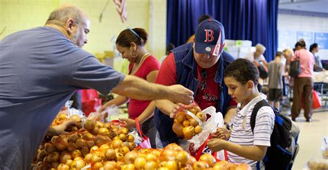 Boston Food Pantries by Food Pantry Boston Volunteer
