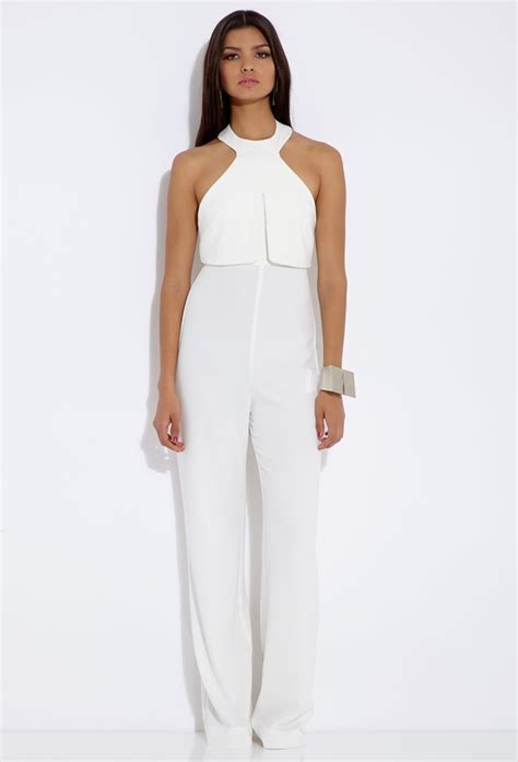 L Kitchen With Island by Sam Faiers White Jumpsuit On Celeb Big Bro Launch Spotted Tv