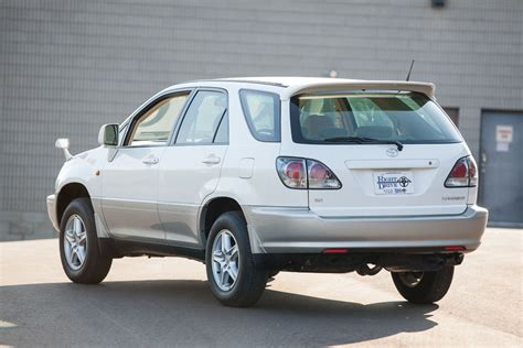 toyota harrier 2000 2000 toyota harrier postal vehicle 673 kms brand