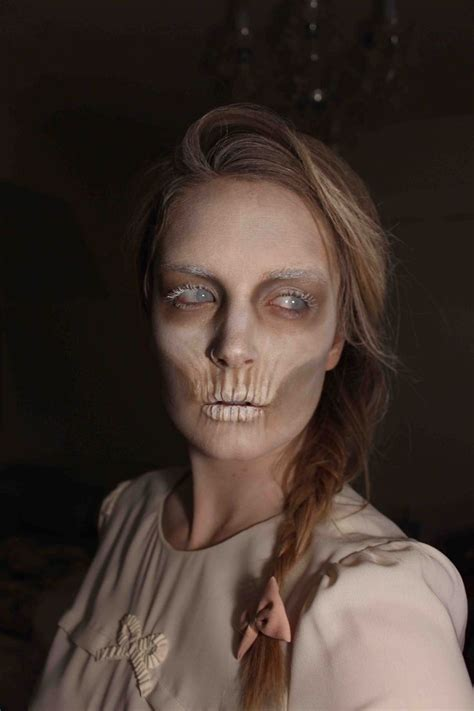 skinny faces pics complete list of halloween makeup ideas 60 images