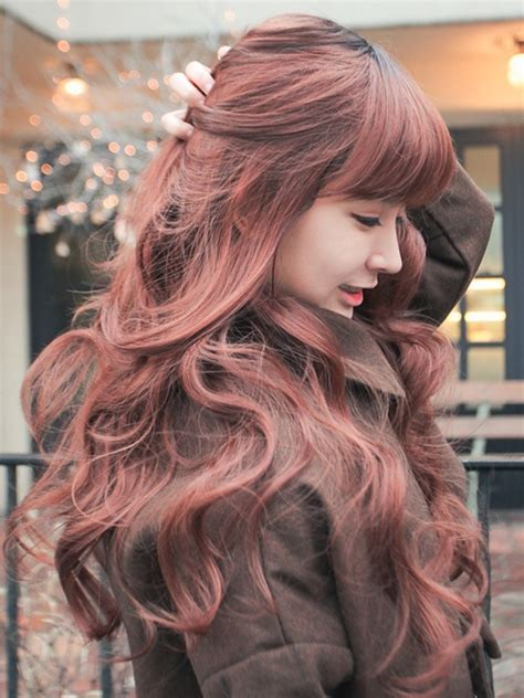 asian hair color trends for 2015 sweet romantic asian hairstyles for young women pretty