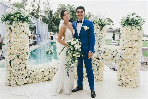 liv lo istri henry golding the wedding scoop
