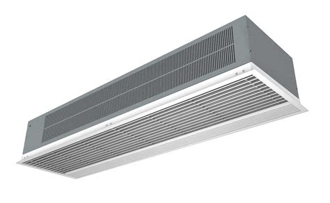 air curtain recessed optima air curtains
