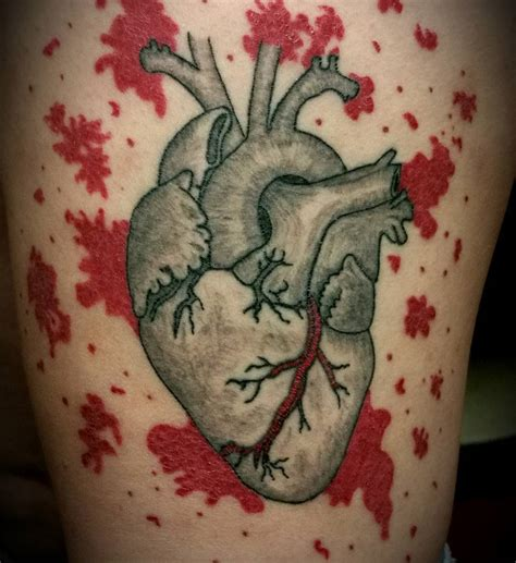 stitched heart tattoo designs 110 best anatomical designs meanings 2018