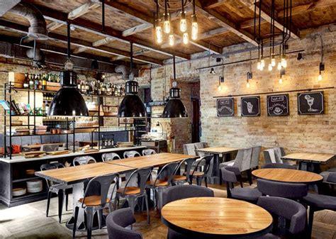 cafe design and build bottega wine and tapas by kley design studio kiev