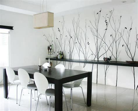 buffets für den speisesaal bilderwand esszimmer design