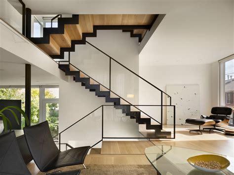 Split Level House   Modern   Living Room   Philadelphia   by McCoubrey/Overholser, Inc.