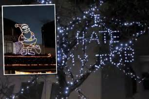 brighton christmas lights are rude images and cheeky