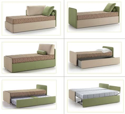 divano letto singolo estraibile letto singolo con letto estraibile la casa econaturale