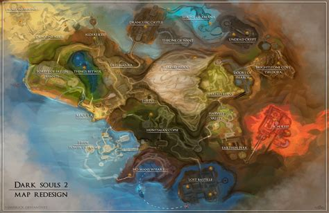 souls 2 map souls 2 map redesign by vempirick on deviantart