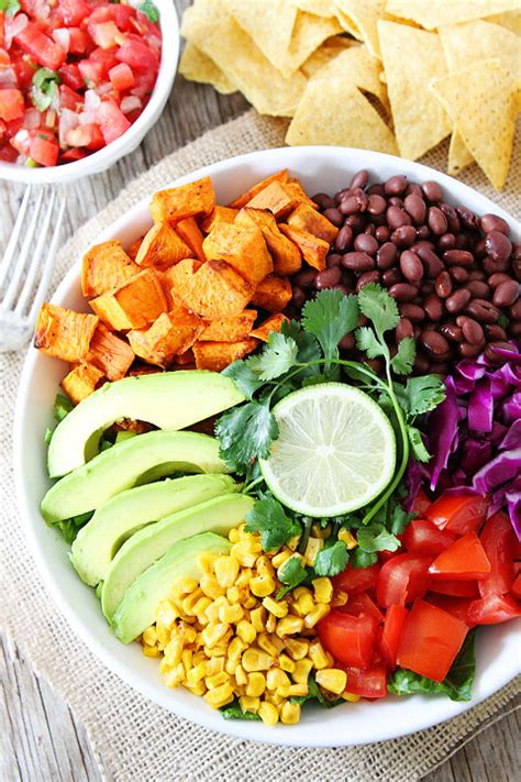 two peas and their pod sweet potato and black bean salad mexican salad recipe