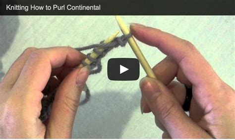 continental vs knitting knit purl continental knitting tutorials by