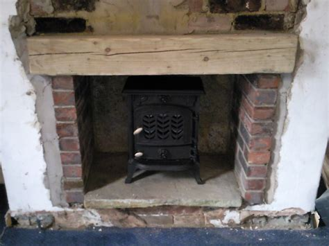install wood burning stove chimneys fireplaces in