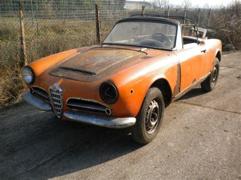 Alfa Romeo Giulietta Spider For Sale by Alfa Romeo Giulietta Spider Sale Mitula Cars