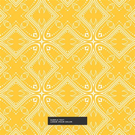 background pattern yellow vector yellow and white pattern background
