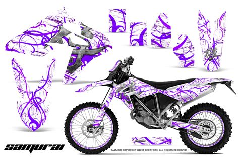 Decal Wheells Samurai Universal bmw gx450 creatorx graphics kit samurai purple white np