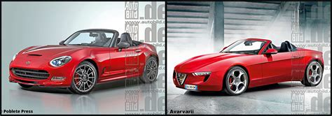 is the fiat 124 and alfa romeo spider coming back vj