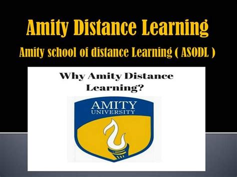 Amity Distance Mba Review by Review About Amity Distance Learning By Distance Education