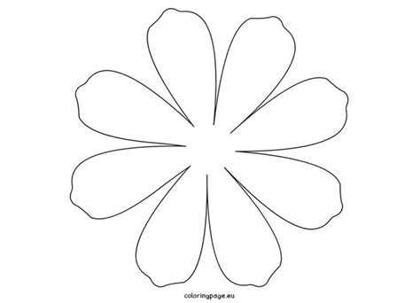 templates for paper flowers large daisy petal template printable flower daisy 8