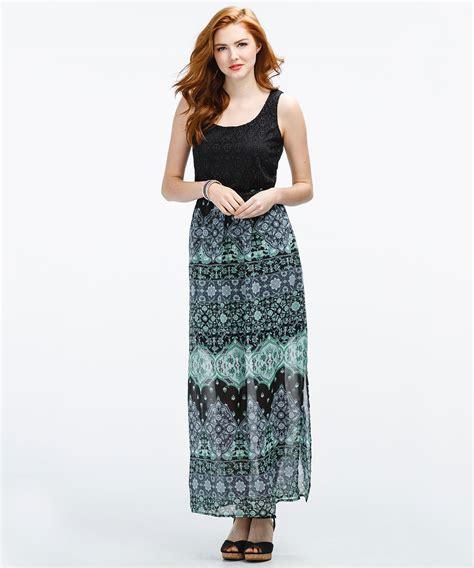 woven skirt maxi dress rickis