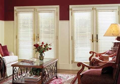 Wooden Blinds For Patio Doors by White Wooden Blinds For Patio Doors Venecianas De