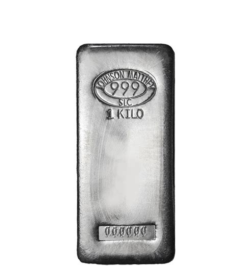1 Kilo Silver Bar Johnson Matthey - 1 kilo silver johnson matthey bar