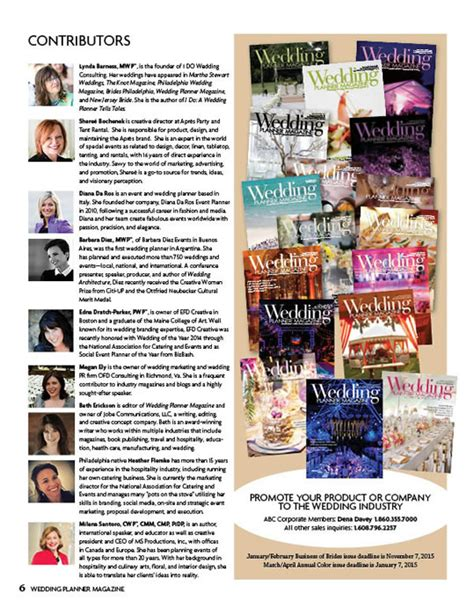 Wedding Planner Magazine by Wedding Planner Magazine The Road To Self Publishing