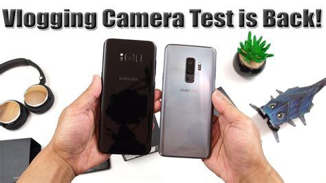 samsung s9 plus unboxing vlogging test is back s9 vs iphone x 4k 60fps 4k 21