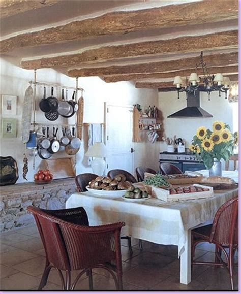 French Country Kitchens Ideas by Open The Door The French Country Farmhouse Home Hunts