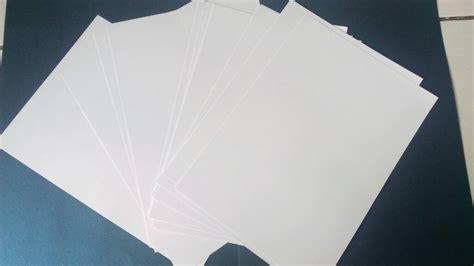 Kertas Paper Jual Kertas Bc Brief Card Putih A4 Paper Java