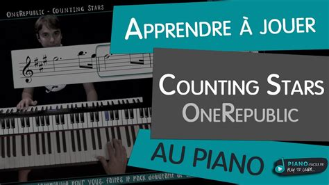 counting stars keyboard tutorial easy apprendre onerepublic counting stars au piano youtube