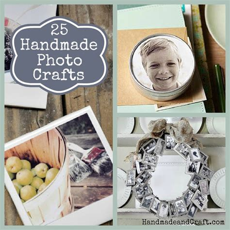 Handmade Photo Gifts - 25 handmade photo crafts diy gifts