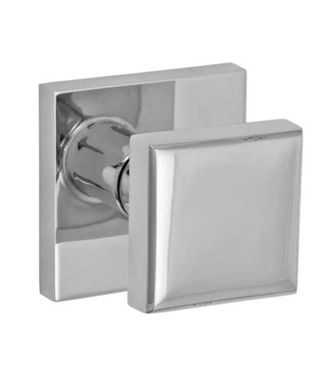 Square Door Knob by Stainless Steel Square Door Knob Fusion 05 S7 Doorware