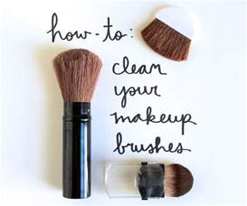 make clean tuesday s tip clean your makeup brushes or else
