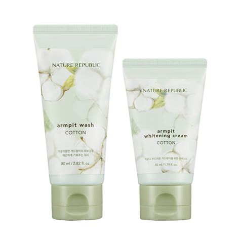 Nature Republic Cotton Armpit Kit by Nature Republic Cotton Armpit Kit Seoul Next By You Malaysia