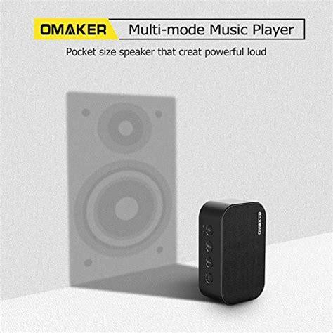 Speaker Simbadda Mini Dual O portable bluetooth speakers omaker m7 6w dual driver mini