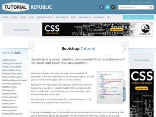 tutorial republic bootstrap responsive twitter bootstrap tutorials web development tutorials